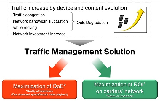 The merit of introducing Traffic management solution